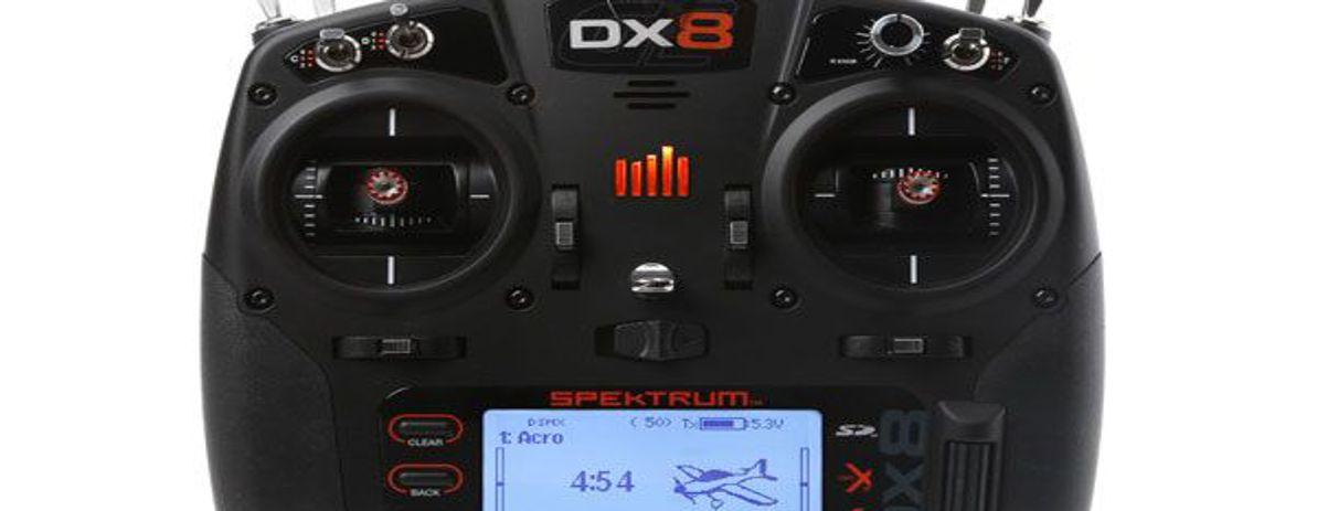 Spektrum DX8 Fernsteuerung für alle Flugmodel