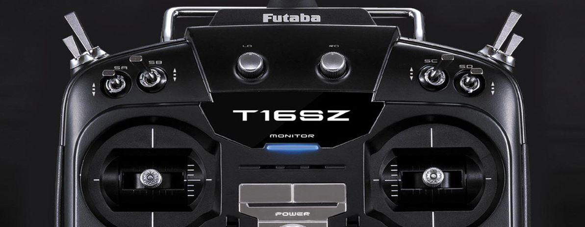 Futaba T16SZ - 90,00 Euro Weihnachts-Rabatt